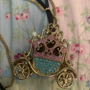 NWOT Betsey Johnson Cinderella Carriage